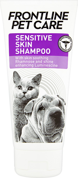 Frontline Pet Care Sensitive Skin shampoo for dogs and cats
