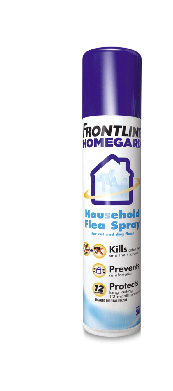 HomeGard Household Flea Spray can pack shot