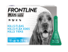 FRONTLINE Plus flea treatment for medium dogs pack shot