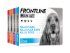 FRONTLINE Plus flea treatment for dogs group pack shots