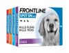 FRONTLINE Spot On flea treatment for dogs group packs